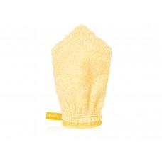 Reinigingshandschoen, gele vezel