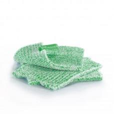 Duodoek klein, 18 x 14 cm, groene vezel, 3-pack